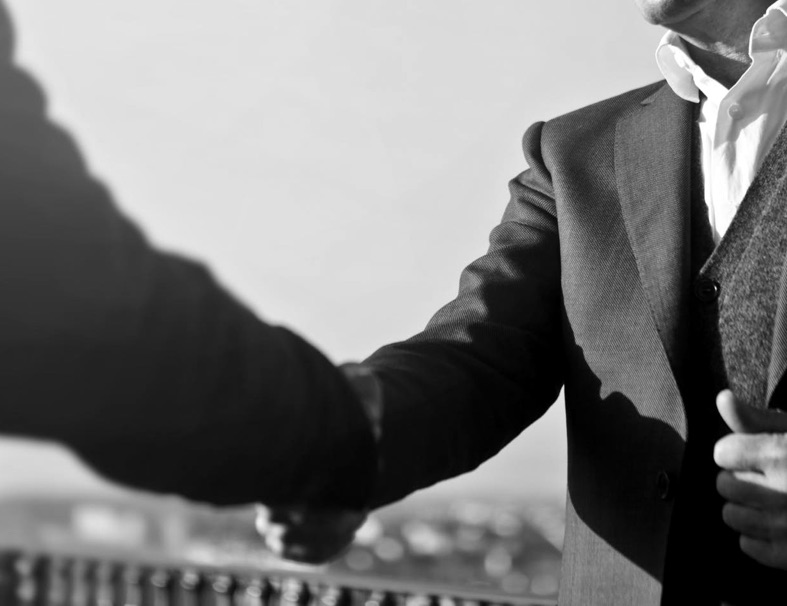 handshake about